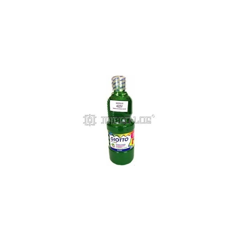 Témpera colores 500 ml, VERDE