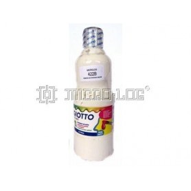 Témpera colores 500 ml, BLANCO