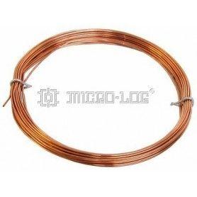 7 Metros de alambre de cobre de 1 mm.