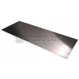 Placa de aluminio 500 x 180 x 1,5 mm.