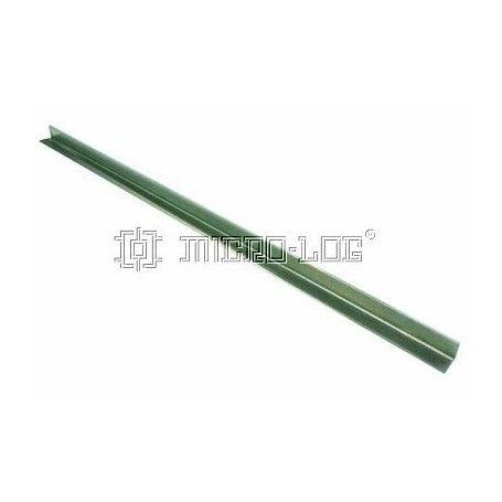 Perfil aluminio sin perforar en L de 500x15x15x1,5 mm.