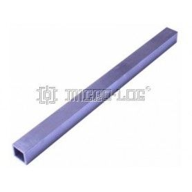 Columna cuadrada aluminio 16x16mm 24cm