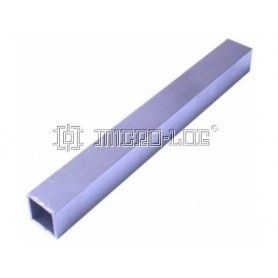 Columna aluminio cuadrado 24cm 25x25mm