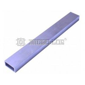 Columna aluminio rectangular 24cm 30x15mm