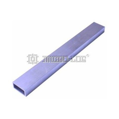 Columna aluminio rectangular 24cm 30x15mm ext