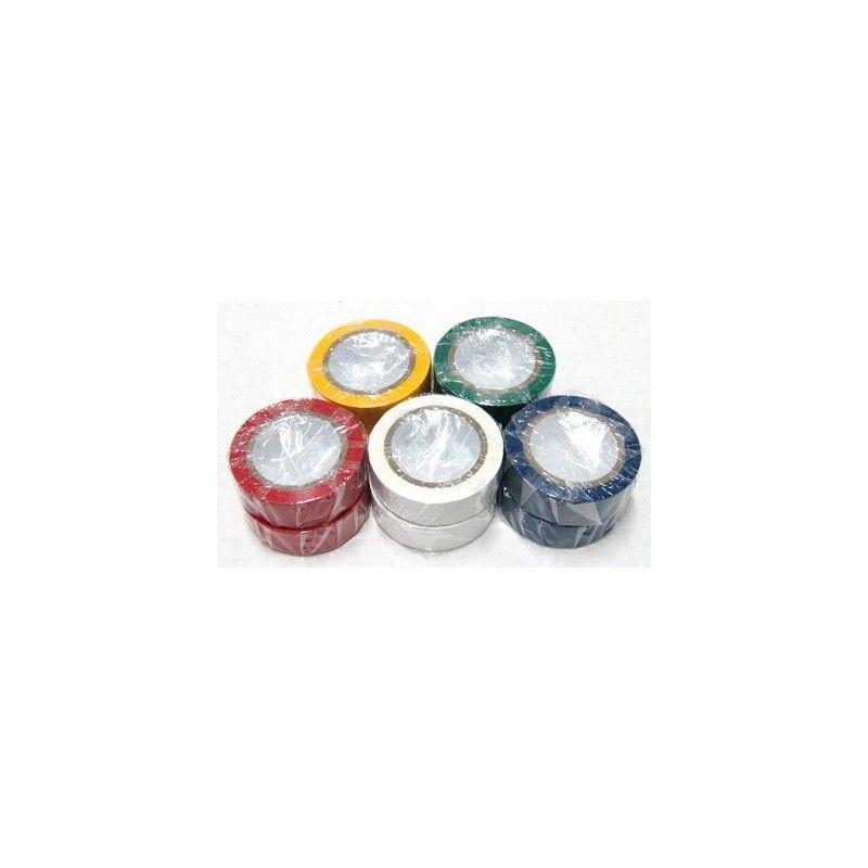 Rollos de cinta aislante de 5 colores