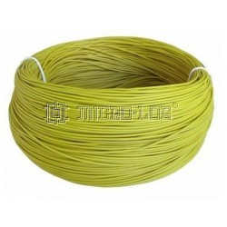 200 Metros de cable de 0,8 mm2 AMARILLO
