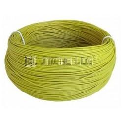 200 Metros de cable de 0,8 mm2 AMARILLO