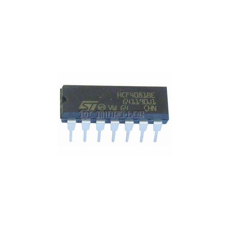 10 C.I. CMOS 4081 AND