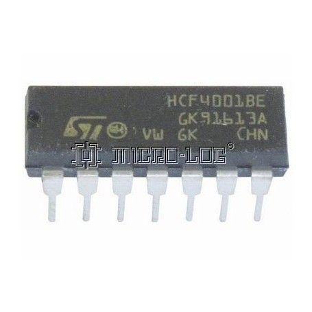 10 C.I. CMOS 4001 NOR