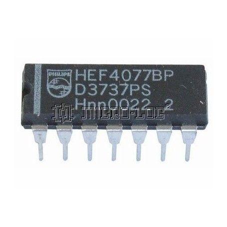 10 C.I. CMOS 4077 NOR EX