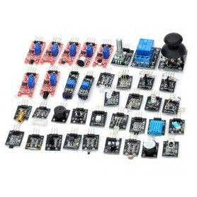 Maletín con 37 sensores robóticos