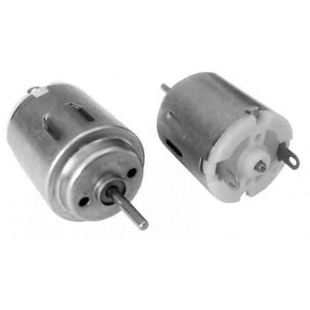 10 Micromotores 4,5V eje 2 mm.