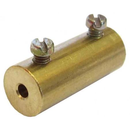 10 Alargadores para ejes de 2 y 4 mm.