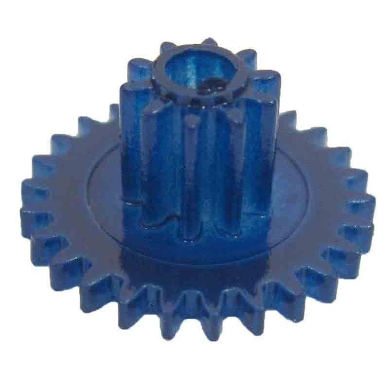 Engrane con piñón, 26/10 dientes, módulo 0,5