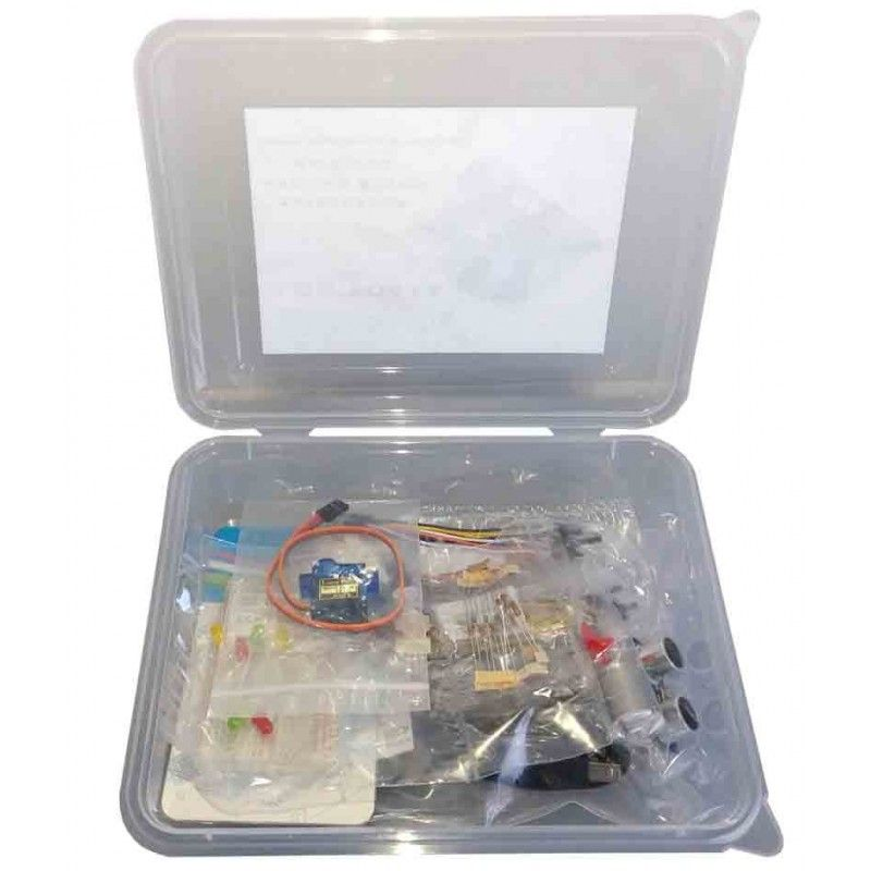 Entrenador Arduino Microlog - Board (sin Arduino)