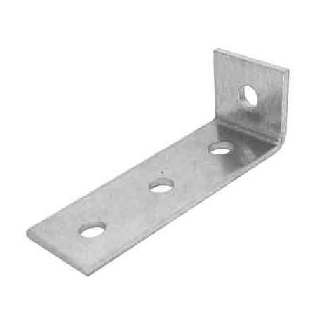 10 Escuadras aluminio 1+3 perforaciones