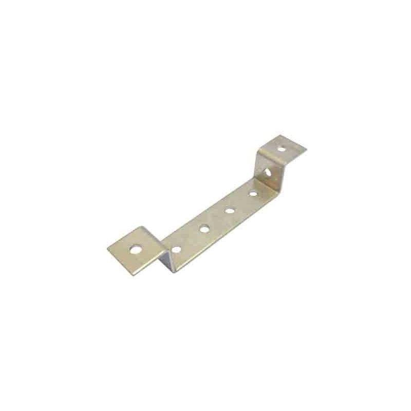 Perfil aluminio 1+1+4+1+1 perforaciones