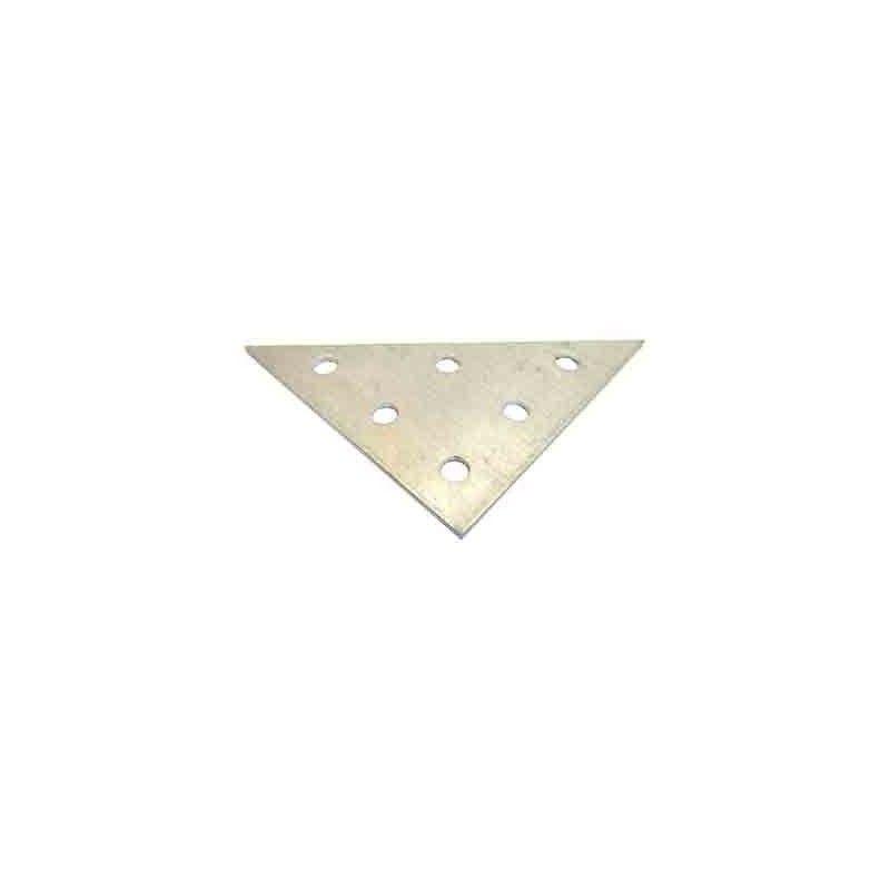 Triángulo aluminio 3+3+3 perforaciones