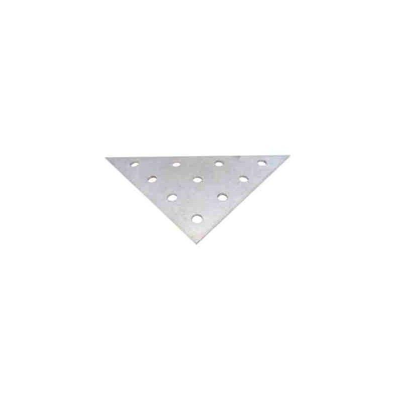 Perfil aluminio triángulo grande