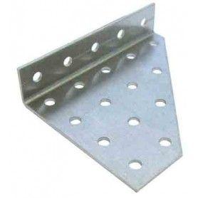 Perfil aluminio trapecio con solapa