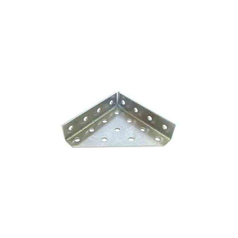 Perfil aluminio triángulo 2 solapas