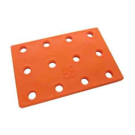 10 Bases minikit plástico