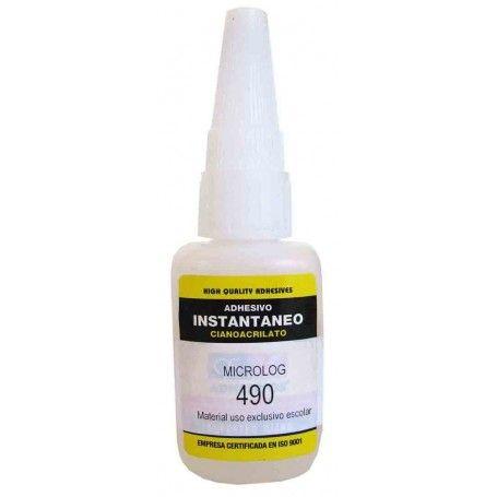 Pegamento de contacto ultra rápido cianoacrilato 20 gr.