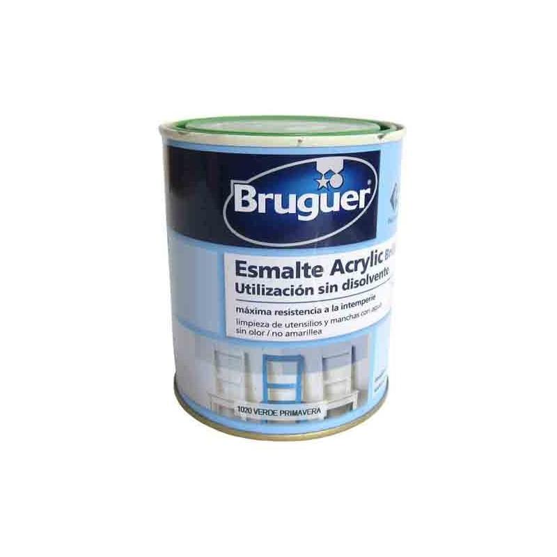 Pintura acrílica al agua, bote de 250 ml, AMARILLO