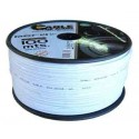 cable flexible paralelo blanco