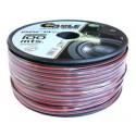 100 Metros de cable paralelo rojo - negro