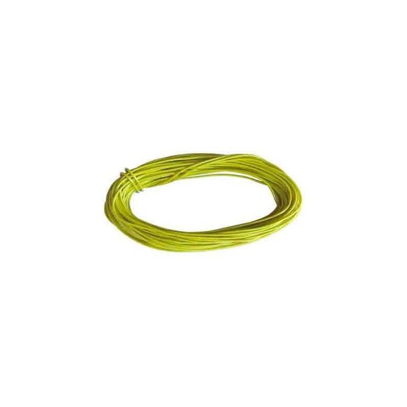 hilo de conexiones AMARILLO 0,5 mm2