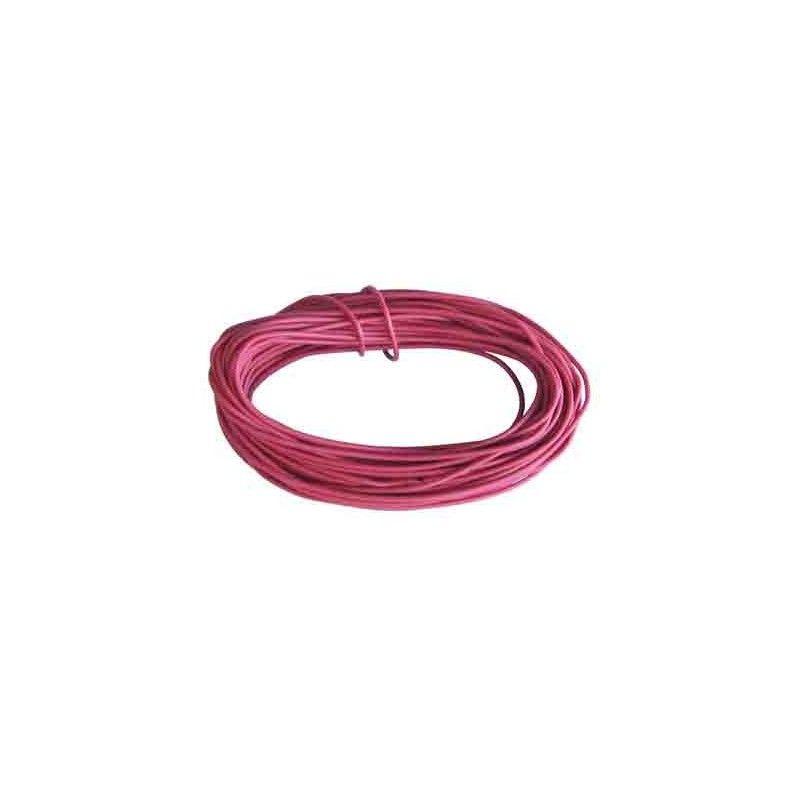 hilo de conexiones ROJO 0,5 mm2