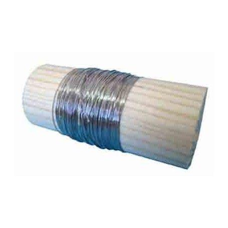 10 Metros de hilo rígido de nicrom 0,2 mm.