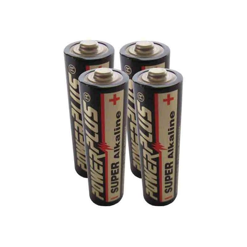 4 Pilas alcalinas AA de 1,5V R6