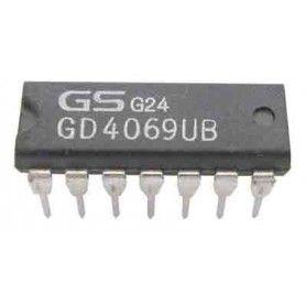 10 C.I. CMOS 4069 NOT