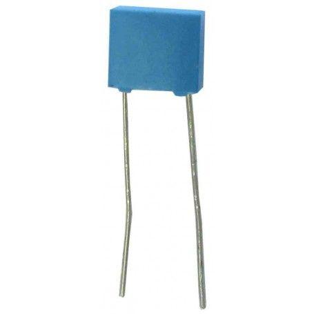 10 Condensadores de poliéster 100 nanofaradios