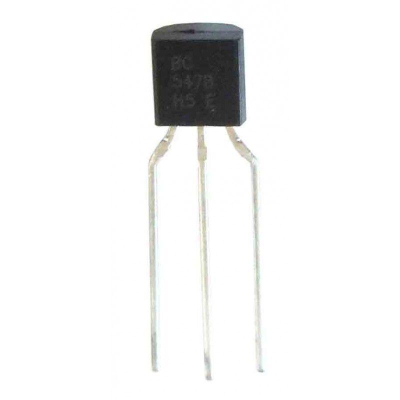 10 Transistores NPN BC547