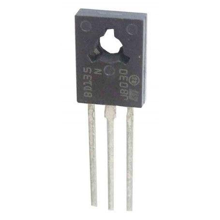 10 Transistores NPN BD135