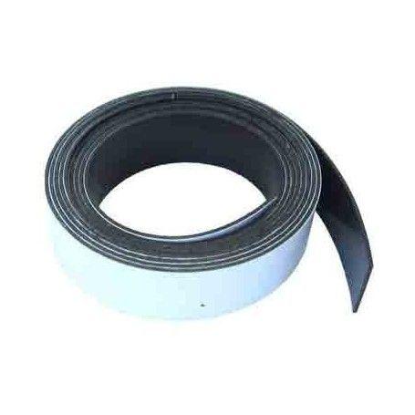 1 Metro de cinta de imán flexible 10 mm.