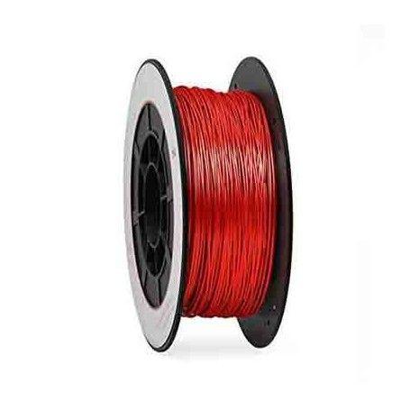 Bobina 1 Kg. PLA rojo filamento 1,75 mm.