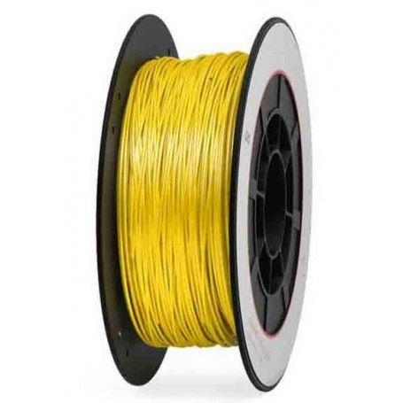 Bobina 1 Kg. PLA amarillo filamento 1,75 mm.