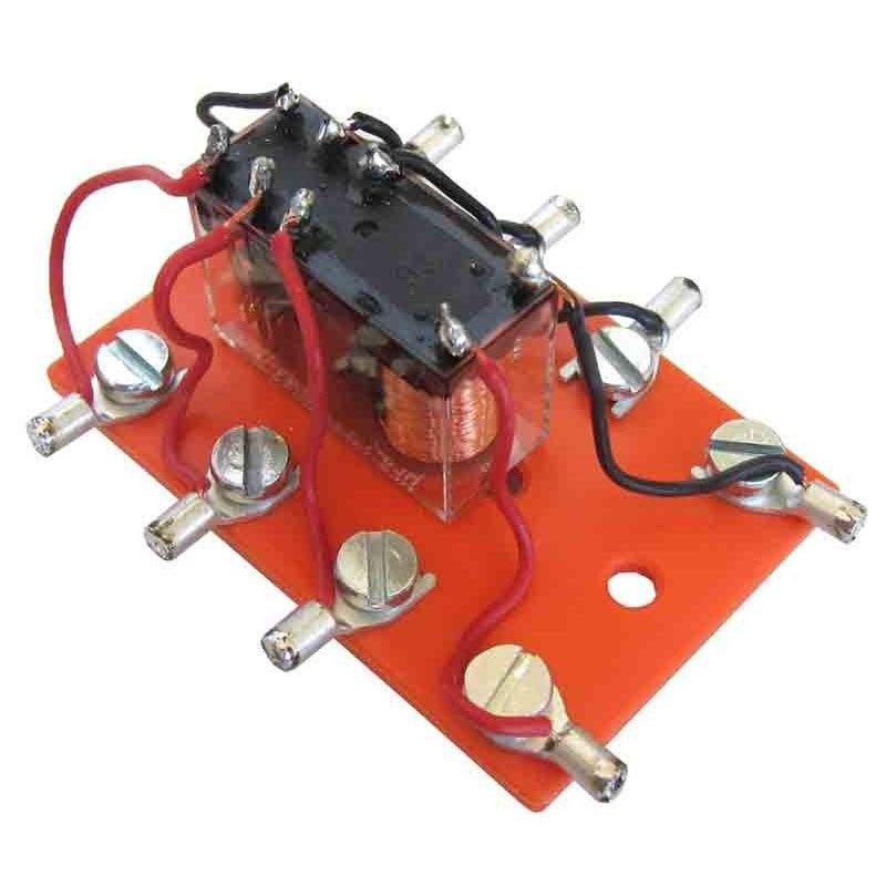 Relé 2 circuitos conmutación