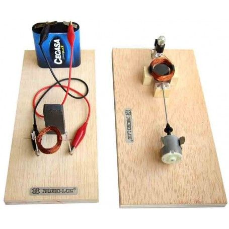 KIT Mini alternador y motor simple