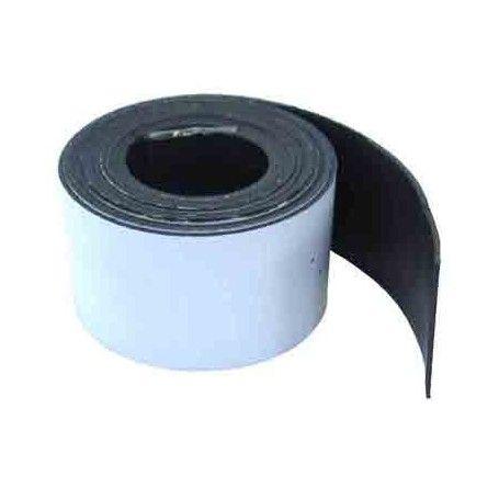 1 Metro de cinta de imán flexible 20 mm.