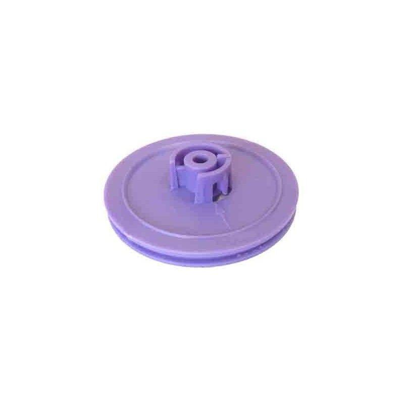Polea de plástico D útil 46 mm. ejes 4 mm