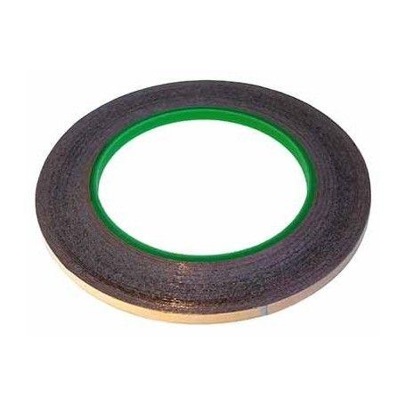 Rollo de 30 m. cinta de cobre adhesiva