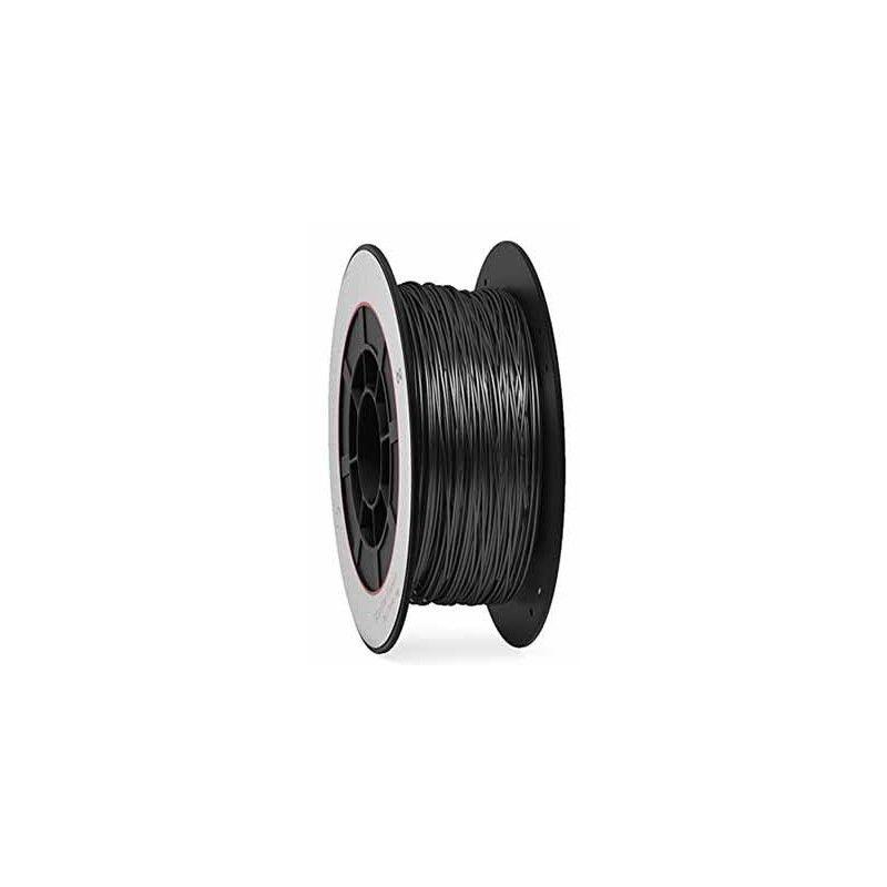 Bobina 1 Kg. PLA negro filamento 1,75 mm.