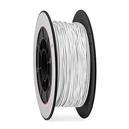 Bobina 1 Kg. PLA blanco filamento 1,75 mm.