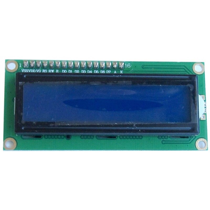 Display LCD con controlador